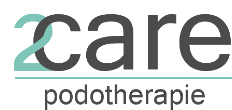 Logo van 2Care Podotherapie